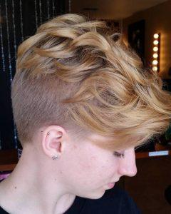 Bed Head Honey Mohawk Hairstyles