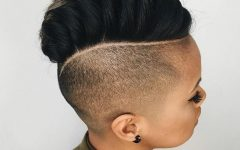 Mini-braided Babe Mohawk Hairstyles