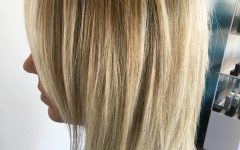 Razored Honey-blonde Bob Hairstyles
