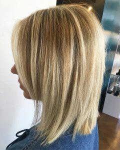 Razored Honey-Blonde Bob Hairstyles