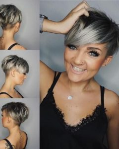 Choppy Bowl-Cut Pixie Haircuts
