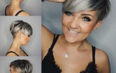 Choppy Bowl-Cut Pixie Hairstyles