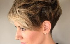 Messy Tapered Pixie Haircuts