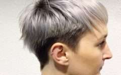 Two-Tone Spiky Short Haircuts