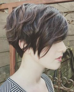 Edgy Pixie Haircuts With Long Angled Layers