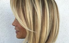 Straight Blonde Bob Hairstyles for Thin Hair