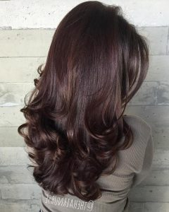 Long Layered Half-curled Hairstyles