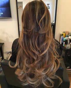 Choppy Chestnut Locks for Long Hairstyles