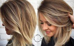 Medium Haircuts for Voluminous Hair