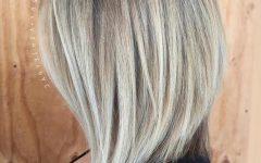 Angled Ash Blonde Haircuts