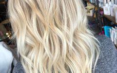 Warm Blonde Balayage Hairstyles