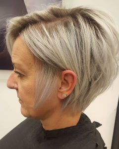 Long Ash Blonde Pixie Hairstyles for Fine Hair