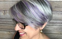 Lavender Hairstyles For Women Over 50