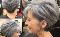 Salt And Pepper Voluminous Haircuts