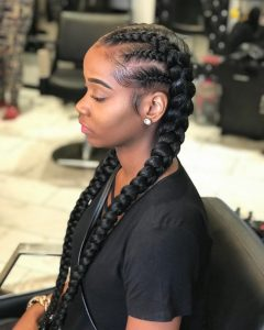 Long Hairstyles with Multiple Braids