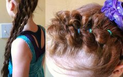 Braided Headband and Twisted Side Pony Hairstyles