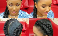 Two Cornrows Hairstyles