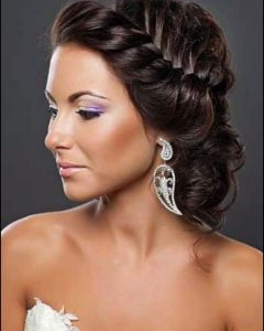 Black Bride Updo Hairstyles