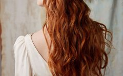 Wedding Hairstyles for Long Red Hair