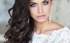 Wedding Hairstyles for Long Down Curls Hair