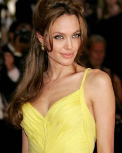 Angelina Jolie Medium Hairstyles