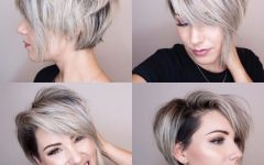 Pixie-Bob Hairstyles With Temple Undercut