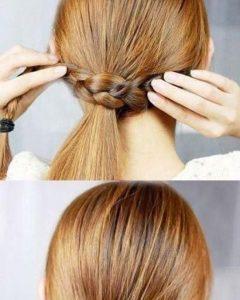 Artistically Undone Braid Hairstyles