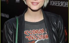 Ashlee Simpson Medium Haircuts