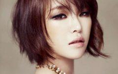 Blunt Bangs Asian Hairstyles