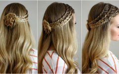 Cornrows Enclosed by Headband Braid Hairstyles