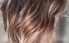 Bronde Balayage for Short Layered Haircuts