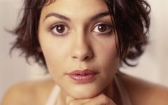 Audrey Tautou Medium Haircuts