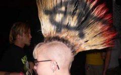 Punk-rock Princess Faux Hawk Hairstyles