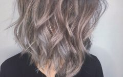 Shaggy Ombre Lob Hairstyles