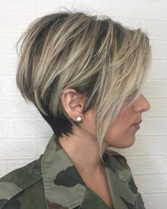 Balayage Pixie Hairstyles With Tiered Layers