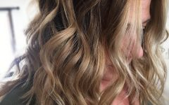 Beachy Waves Hairstyles with Balayage Ombre