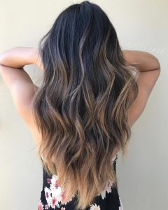 Choppy Dimensional Layers For Balayage Long Hairstyles