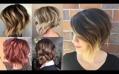 Feathered Pixie Haircuts with Balayage Highlights