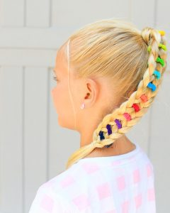 Banded Ponytail Hairstyles