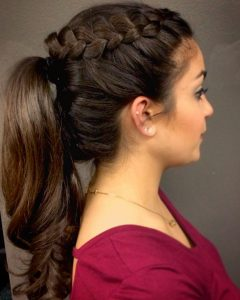 Beautifully Braided Ponytail Hairstyles