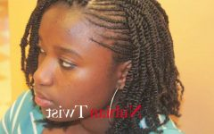 Cornrows with a Twist
