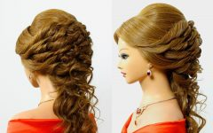 Wedding Hairstyles for Long Romantic Hair