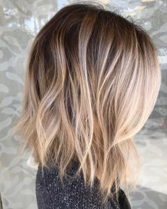 Root Fade Into Blonde Hairstyles