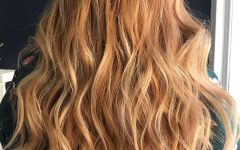 Marsala to Strawberry Blonde Ombre Hairstyles