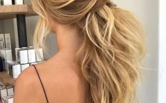 Textured Ponytail Hairstyles