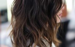Choppy Layers Long Hairstyles with Highlights