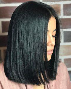 Blunt Cut Medium Hairstyles