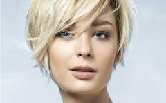 Womens Short Haircuts for Round Faces