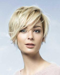 Short Hair Cuts For Women With Round Faces