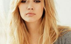 Long Hairstyles Layered with Fringe